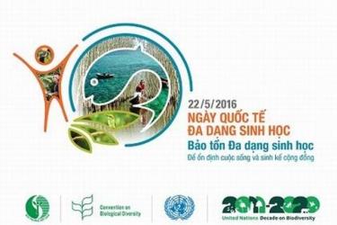 Hành động vì Ngày Quốc tế đa dạng sinh học 2016